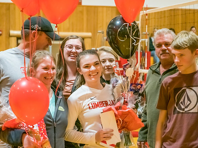 Varsity Volleyball Senior Night-11