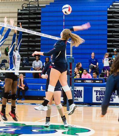 Varsity Volleyball win over Dickinson Away