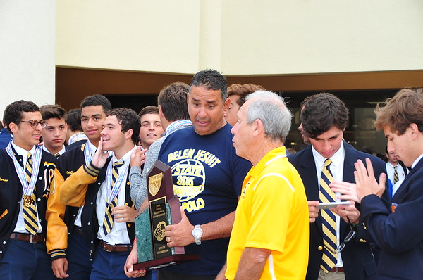 Varsity Water Polo State Champions - Special Assembly
