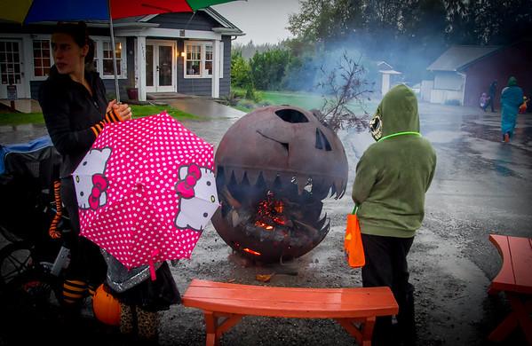 Set four: Halloween on Vashon Island 2015