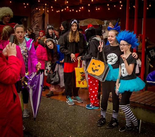 Set two: Halloween on Vashon Island 2015