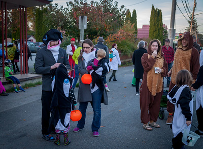 Halloween on Vashon Island 2017