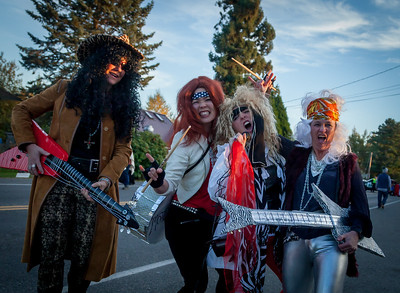 Set three: Halloween on Vashon Island 2017
