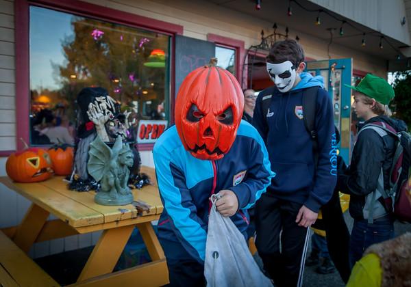 Set two: Halloween on Vashon Island 2017