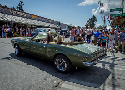 Tom Stewart Car Parade 2016