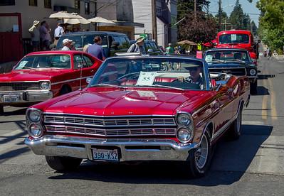 Tom Stewart Car Parade 2015