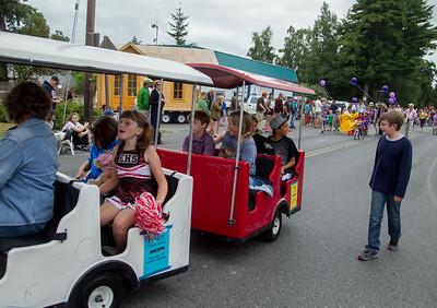 The Kids Parade, Vashon Island Strawberry Festival 2016 Grand Parade