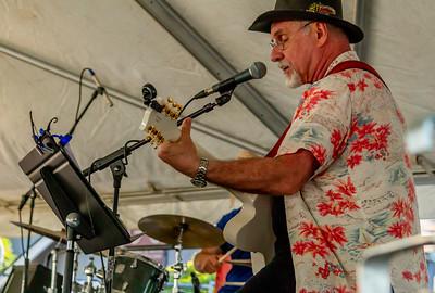 Van Redeker Band at the Beer Garden Festival Friday 2018