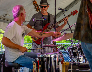 Set four: One More Mile at the Beer Garden, Vashon Island Strawberry Festival Saturday 2018