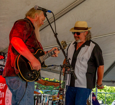 One More Mile at the Beer Garden, Vashon Island Strawberry Festival Saturday 2018