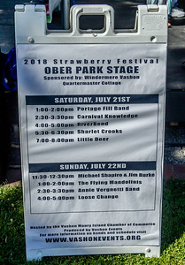 Loose Change at the Ober Park Main Stage