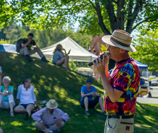 Loose Change at the Ober Park Main Stage, Vashon Island Strawberry Festival Sunday 2018