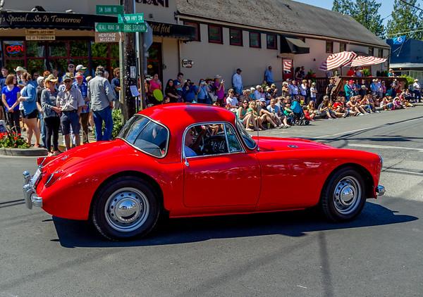 Set three: the Tom Stewart Memorial Classic Car Parade 2018
