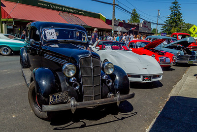 the Tom Stewart Classic Car Show 2018