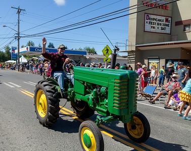 Vashon Island Strawberry Festival Grand Parade 2017