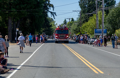 The Vashon Island Strawberry Festival Grand Parade 2017