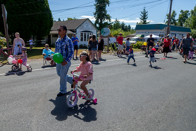Vashon Island Strawberry Festival Grand Parade 2017