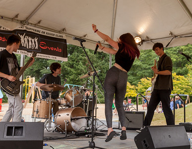 Twice Nice at the VARSA Youth Stage Ober Park Festival Sunday