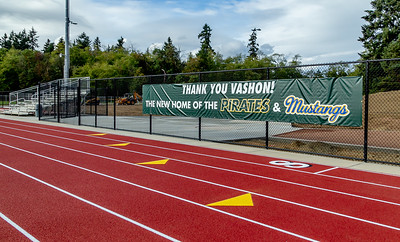 The New Vashon Island High School Track and Field, 2018