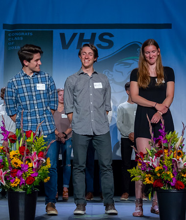 The Awards Set two: Vashon Island Community Scholarship Foundation Awards 2018