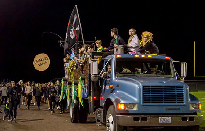 Vashon Island High School  Homecoming Parade 2016