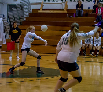 Vashon Island High School Varsity Volleyball v Chimacum 09/06/2016