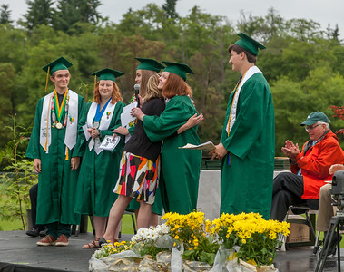 Vashon Island High School Class of 2017 Graduation