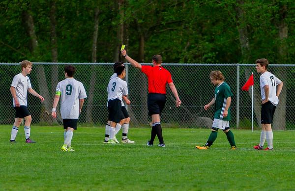Game Set five: Vashon Island High School Boys Varsity Soccer v Charles Wright - Nisqually League Championship