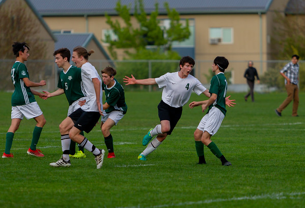 Game Set four: Vashon Island High School Boys Varsity Soccer v Charles Wright - Nisqually League Championship