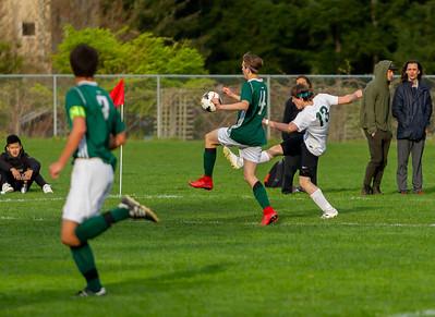 Vashon Island High School Boys Varsity Soccer v Charles Wright
