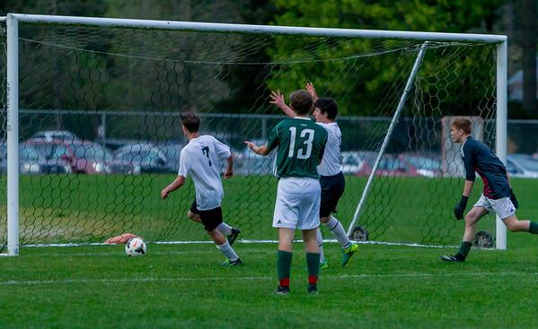 The Golden Goal: Vashon Island High School Boys Varsity Soccer v Charles Wright - Nisqually League Championship