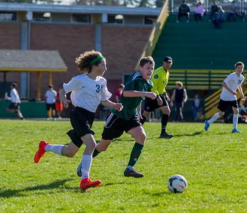 Vashon Island High School Boys JV Soccer v Klahowya