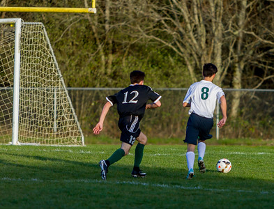 Vashon Island High School Boys Varsity Soccer v Klahowya