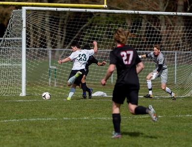 Set five: Vashon Island High School Boys Varsity Soccer v Seattle Academy