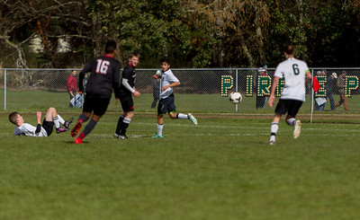 Vashon Island High School Boys Varsity Soccer v Seattle Academy