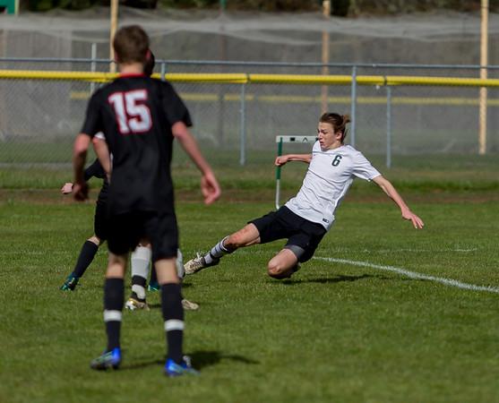 Set three: Vashon Island High School Boys Varsity Soccer v Seattle Academy