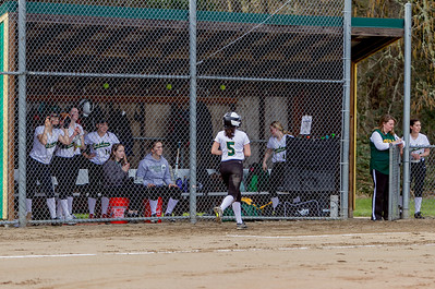 Vashon Island High School Fastpitch v Rainier Christian