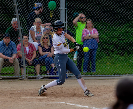 Set five the Seniors Night game: Vashon Island High School Fastpitch v Seattle Christian