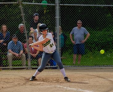 The Seniors Night game, Vashon Island High School Fastpitch v Seattle Christian