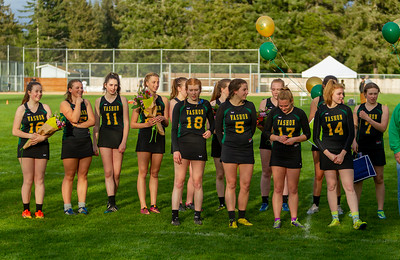 Vashon Valkyries Lacrosse Seniors Night 2018