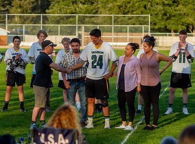 Vashon Vultures Lacrosse Seniors Night 2018