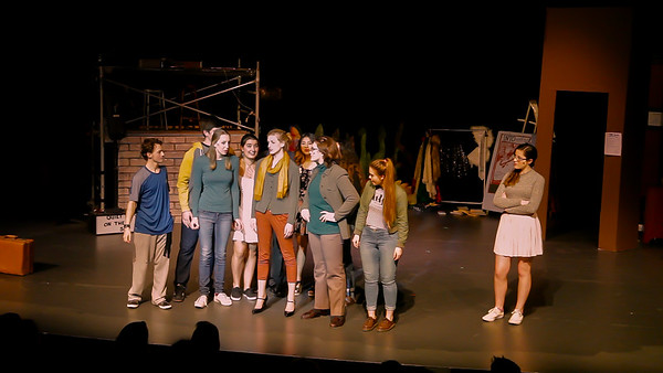 The Project: an original musical by  Vashon Island High School Drama 2016