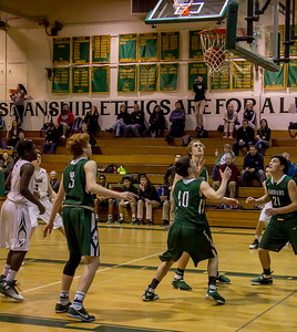 Boys Varsity Basketball v Charles Wright