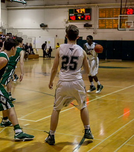 Boys Varsity Basketball v Charles Wright