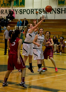 Girls JV Basketball v Northwest