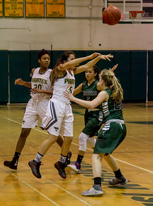 Girls Varsity Basketball v Charles Wright 01/24/2017