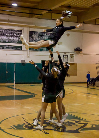 Vashon Island High School Winter Cheer 2016-2017