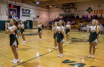 Winter Cheer at Basketball v Sultan