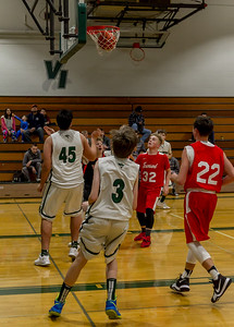 Boys JV Basketball v Port Townsend