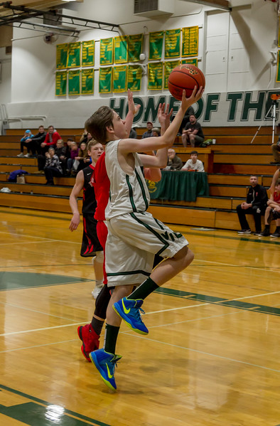 Second Quarter Set three: Vashon Island High School Boys JV Basketball v Port Townsend